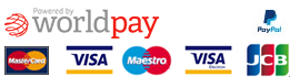 Payments by Sage Pay - Visa, Maestro, Mastercard, American Express, PayPal