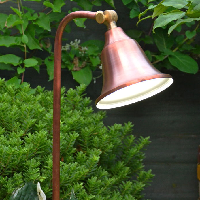 12v Brass and Copper Garden Lights