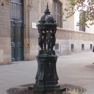 The Wallace Cast Iron Drinking Fountain From GHM