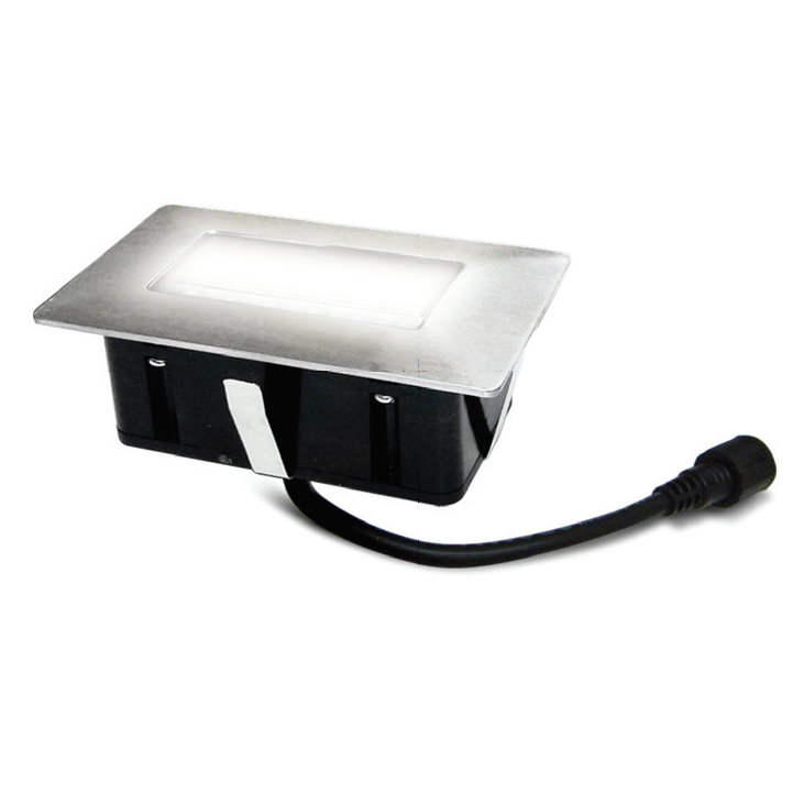 Easy Connect Rectangular Cool White LED Deck Light