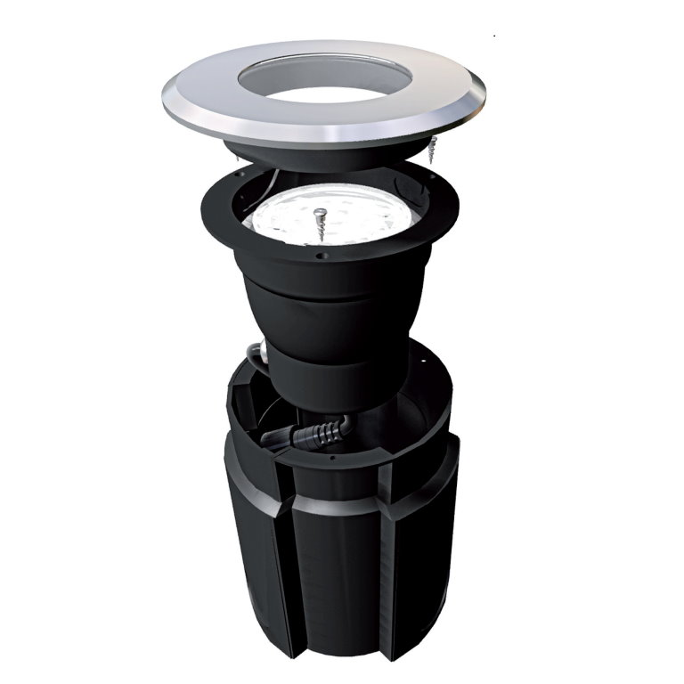 Easy Connect Warm White LED Ground Light
