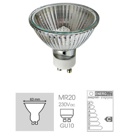 Easy Connect 28w GU10 Halogen Replacement Lamp