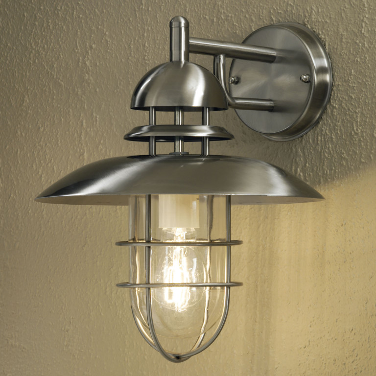 SORRENTO 7319 Steel Wall Light