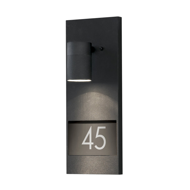 MODENA 7655 House Number Wall Light