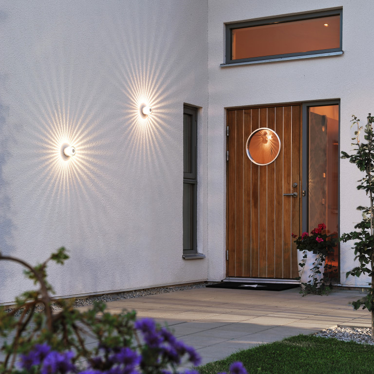 House and patio outdoor lighting contemporary feature wall lights aloadofball Gallery