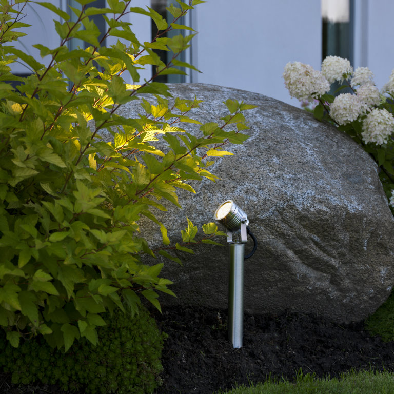 MONZA 7918 LED Spike/Pillar Garden Spotlight
