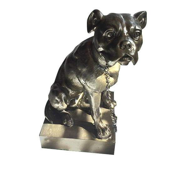 The Apollo Dog Art Line Statue From GHM