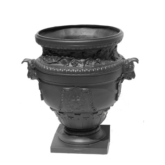 Cast Iron Vases and Planters