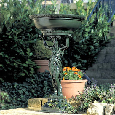 Cariatide Self Contained Water Feature