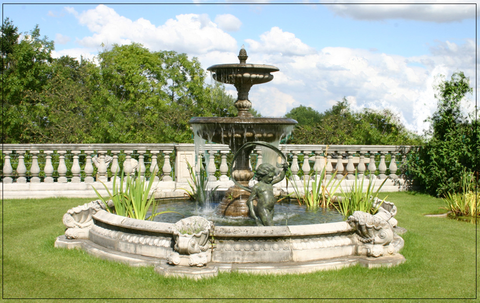 Medium Two Tier Vermeer Garden Fountain Centrepiece