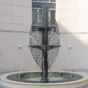 Flore Cast Bronze Water Feature from GHM