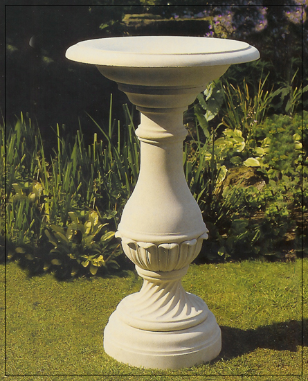 Tennyson Bird bath Garden Ornament