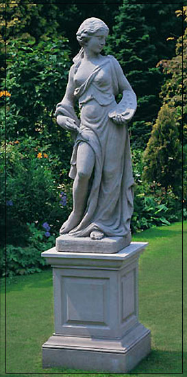 The Artist Four Arts Garden Statue