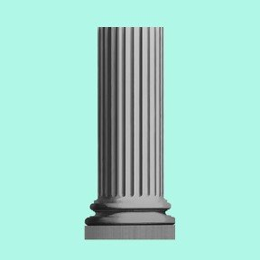 Knightsbridge Fluted Pedestal PURCHASE 2 PIECES AND SAVE 10%