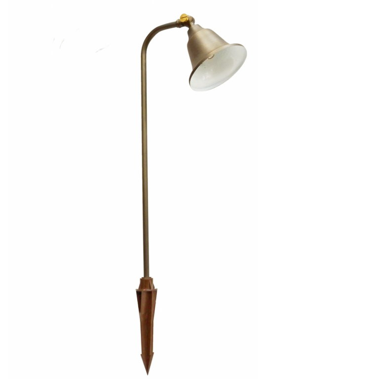 12v Brass Charleston Belle Adjustable Spread Light