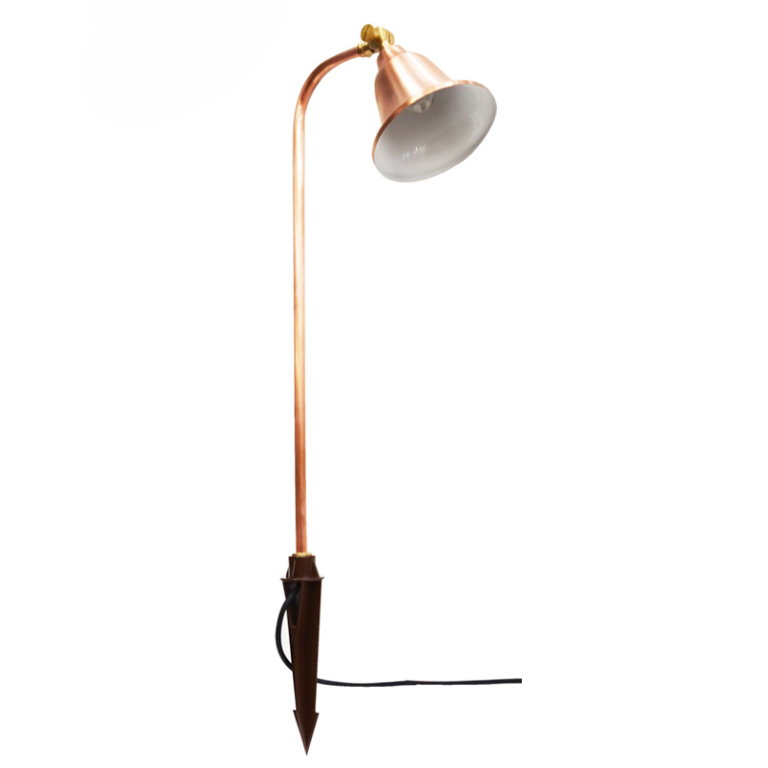 12v Copper Charleston Belle Adjustable Spread Light