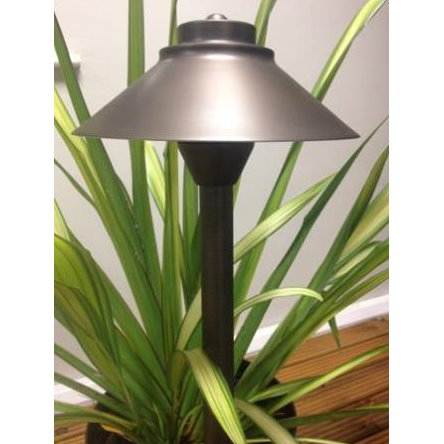 12v Brass Charleston Cobra Garden Spread Light