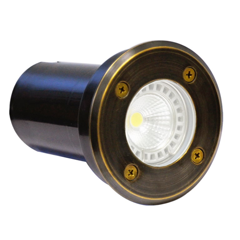 12v Brass Decimax Ground Light