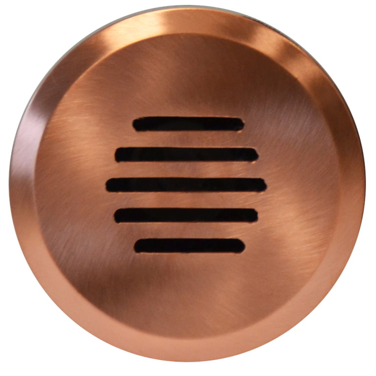 12v Copper Linalite Recessed In Wall Garden Light