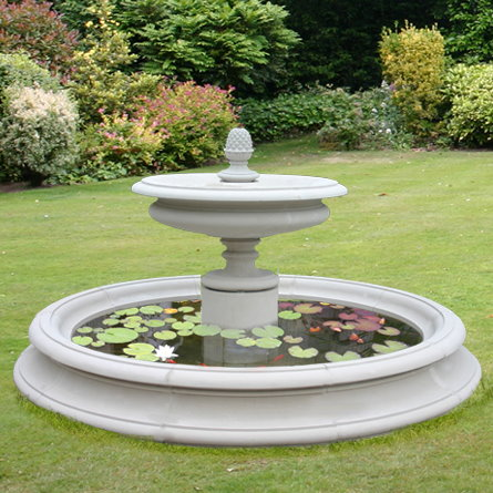 Sienna Small Round Garden Pool Surround