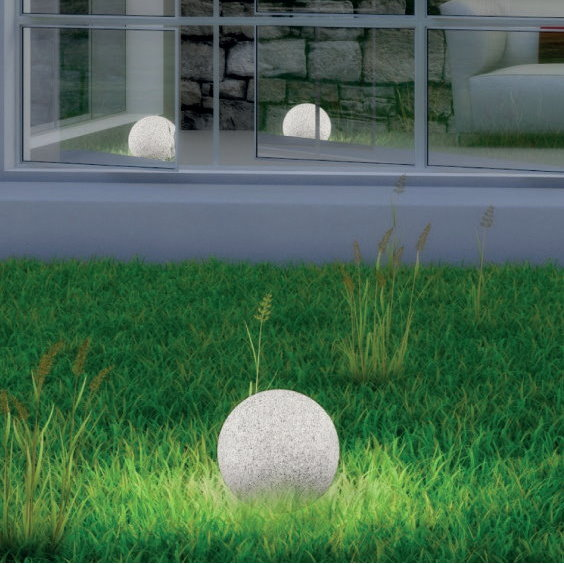 STONO Stone Effect Illuminated Spheres 03