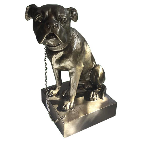 Zeus Art Line Dog Statue From GHM