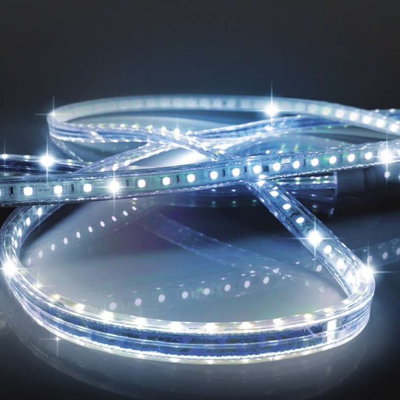 Easy Connect Extendable LED Blue Strip Light