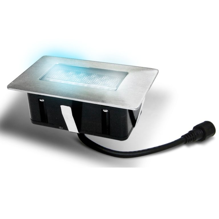Easy Connect Rectangular Blue LED Deck Light