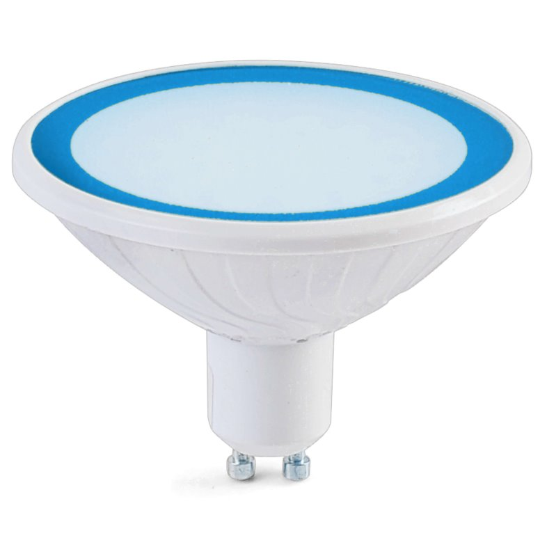 Easy Connect 8w GU10 Blue Dimmable LED Lamp