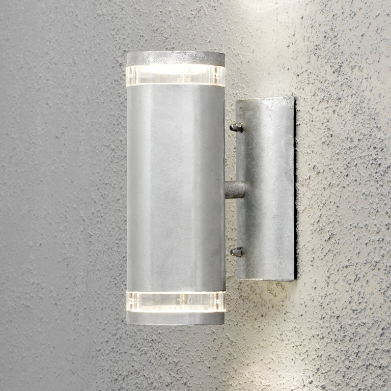 MODENA 7512 Wall Light with Clear Light Discs