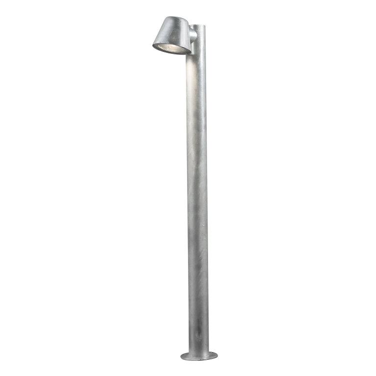 GALVANISED STEEL GROUND MOUNTED PEDESTALS AND COLUMN LIGHTS