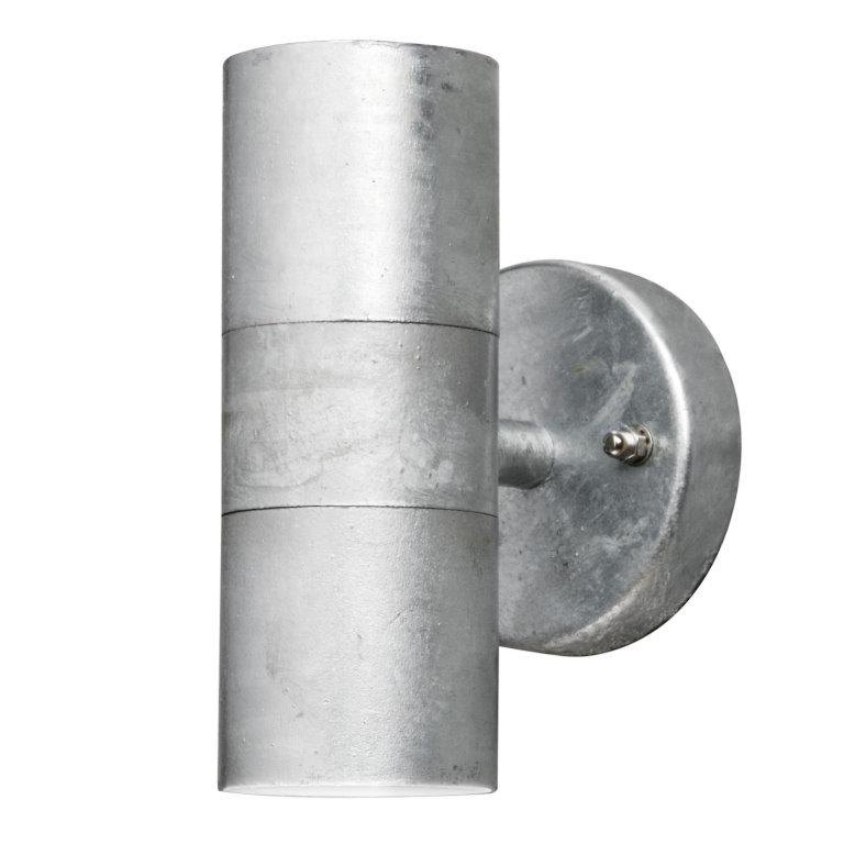 GALVANISED STEEL WALL MOUNTED LIGHTS