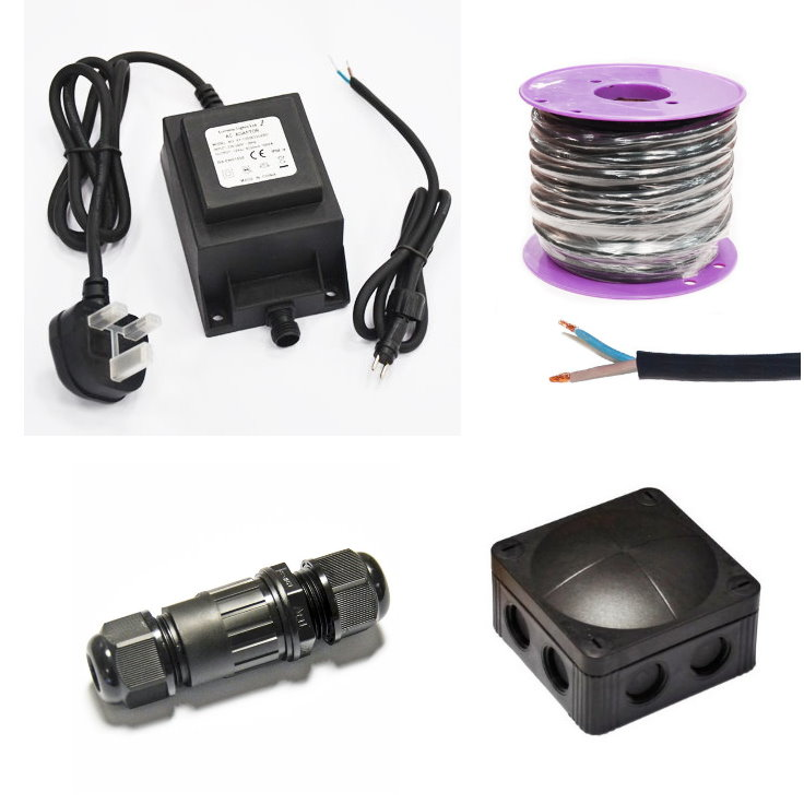 12v Transformers and Installation Accessories