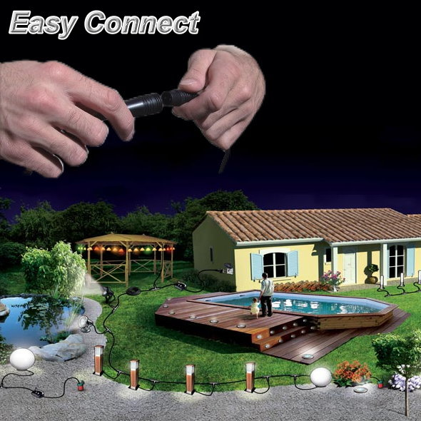 Easy Connect Garden Lighting