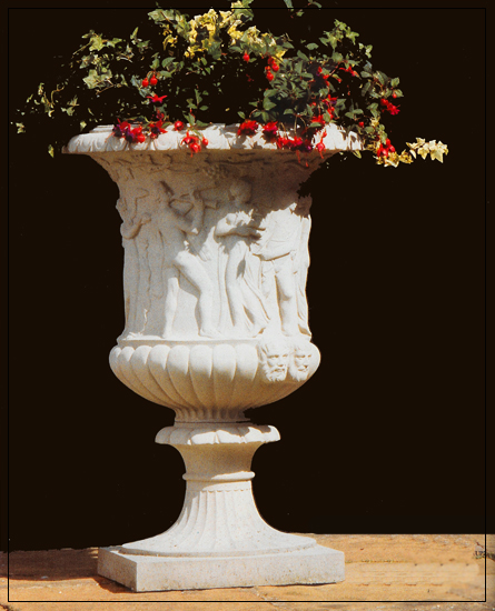 Borghese Vase Garden Ornament PURCHASE 2 PIECES AND SAVE 10%