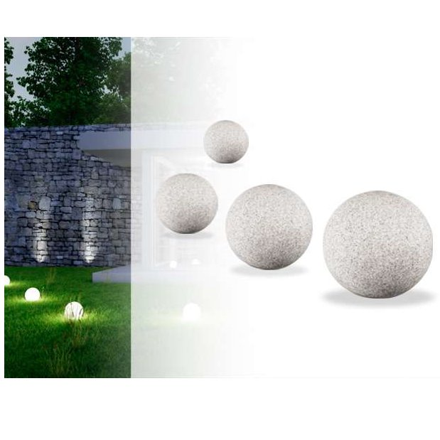 STONO Stone Effect Illuminated Spheres 05
